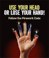 NIFRS leaflet on the dangers of fireworks in the wrong hands