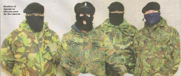 Leadership of Oglaigh who are backing prison breakout plan