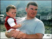 Robert McCartney who was murdered by an IRA gang in January 2005