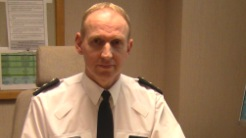 Chief Inspector Davy Beck condemns those who left pipe bomb in Armagh