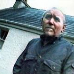 The last picture of Denis Donaldson at his reomote cottage in Donegal
