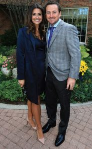 Graeme McDowell and wife Kristine Stape have a baby girl