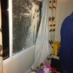 The home of Alliance councillor couple targeted in a loyalist paint bomb attack