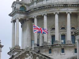 Union flag flying from Belfast City Hall on Wednesday