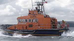 Belfast Coastguard rescue vessel