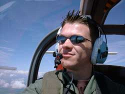 Former RAF pilot and UPV leader Jonny Harvey