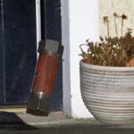 Pipe bombs thrown at house on Wednesday night