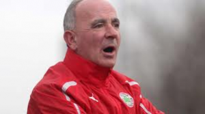 Reds manager Tommy Breslin will have an interesting half time team talk with his players