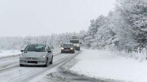 How motorists are dealing with the snow in north east of England