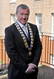 Belfast Chamber of Trade president Joe Jordan