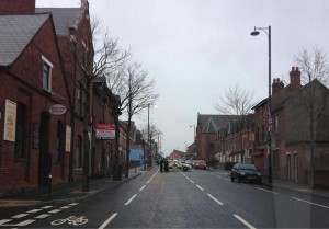 Security alert at Kitchener Street off the Donegall Road