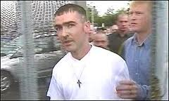 IRA Shankill bomber Sean Kelly leaves prison with Eddie Copeland