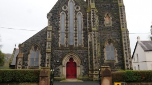 Police probe paint bomb attack on St Mary's Star of the Sea Catholic Church in Newtownabbey
