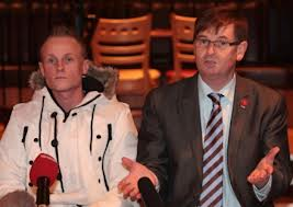 Jamie Bryson and Willie Frazer heal their rift
