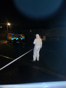 Scene of shooting in Derry