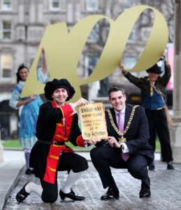 Belfast Lord Mayor Gavin Robinson unveils Easter events for 400 year Royal Charter celebrations