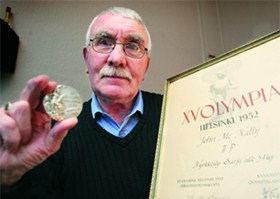 Boxer John McNally pleades for the safe return of his silver Olympic medal