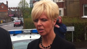 DCI Karen Baxter appeals for after bomb partially explodes in Belfast's Victoria Street