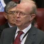 Ulster Unionist Party peer Lord Reg Empey in the House of Lords