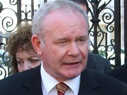 Sinn Fein chief Martin McGuinness