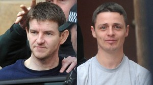 Derry mortar bomb accused Gary McDaid (left) and Seamus McLaughlin