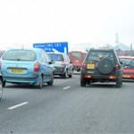 Traffic snarls up in west