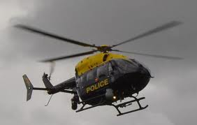PSNI helicopter used in hunt for house burglars