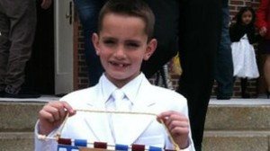 The youngest victim of the Boston marathon Martin Richard