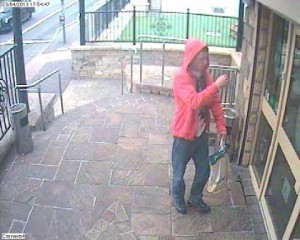 Club want help in identifying this male who is suspected of stealing a mobile phone