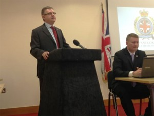 Jim Dowson also addresses press conference to launch the Protestant Coalition