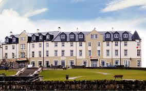 The Ramada Encore hotel in Portrush which is now in administration