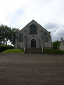 Second Donegore Presbyterian Church in Antrim where David Ford was a church elder