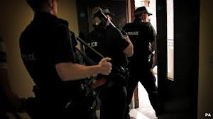 Police conducting brothel raids in the Greater Belfast area