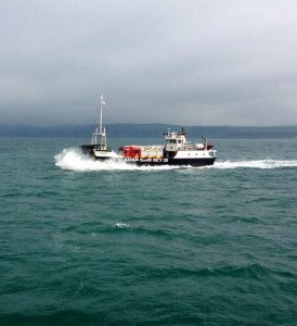 Fire tenders taken to Rathlin island on ferry