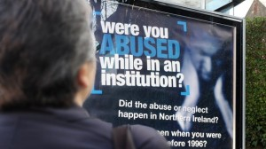 A poster campaign urging victims of historical institutional abuse to come forward