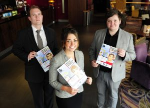 Some of the young business people who graduated from the Belfast Enterprise Academy