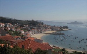 The O'Toole family were holidaying in the historic area of Galicia in north-western Spain