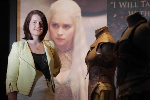 Helen Carey of the Northern Ireland Tourist Board previews the HBO Game of Thrones Exhibition which opens at Titanic Belfast tomorrow (June 8) until June 17