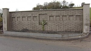 The memorial to ten Protestant workmen shot dead in Kingsmills in 1976