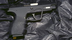 High powered handgun used in west Belfast gun attack