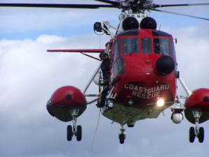 Irish Rescue helicopter involved in search in Donegal