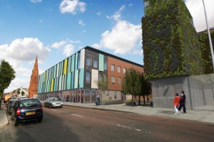 The Skainos Centre built by the East Belfast Mission
