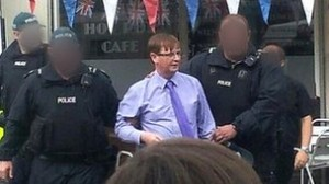 Union flag leader Willie Frazer arrested on Tuesday in east Belfast