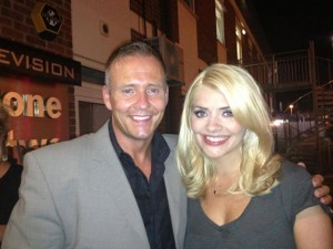 Therapist Craig Price with ITV This Morning host Holly Willoughby