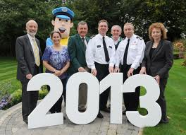 PSNI Chief Constable Matt Baggott at the launch and World Police and Fire Games launch earlier this year