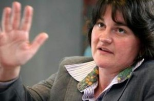 Enterprise Minister Arlene Foster welcomes 10 news jobs for Belfast