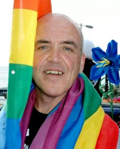 Tributes paid to gay rights campaigner Sean Morrin who has died suddenly