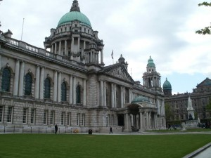Elaborate hoax found near Belfast City Hall on Tuesday