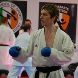 Dermot McFeely wins world karate title in Italy