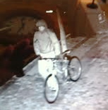 Man arrested 24 hours after CCTV image of bicycle bomber released by detectives